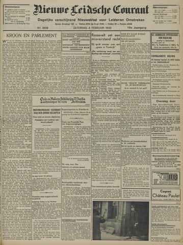 Nieuwe Leidsche Courant 1939-02-04