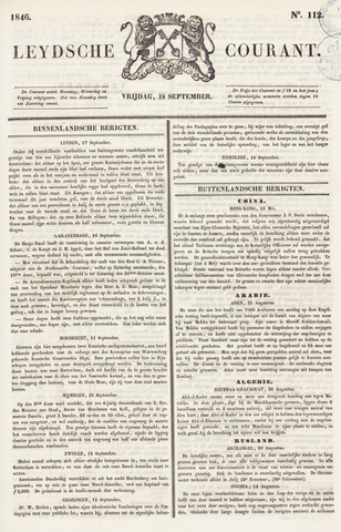 Leydse Courant 1846-09-18