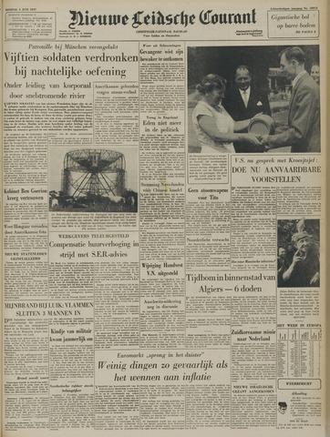 Nieuwe Leidsche Courant 1957-06-04