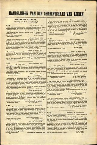 Handelingen van de Raad 1872-01-16