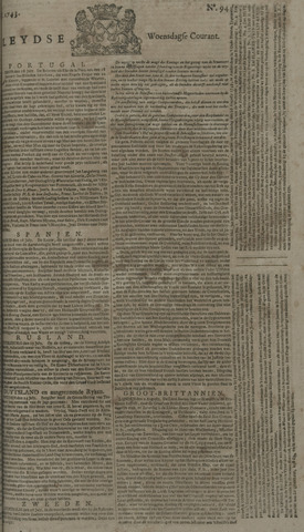 Leydse Courant 1743-08-07