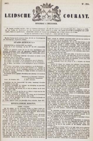 Leydse Courant 1877-12-04