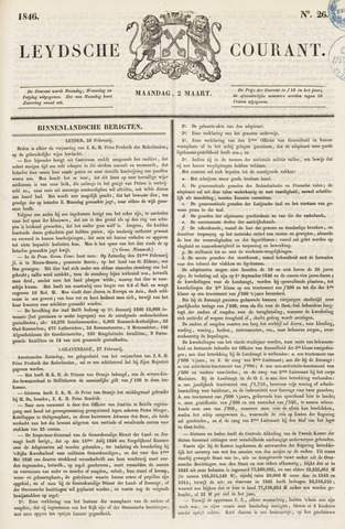 Leydse Courant 1846-03-02