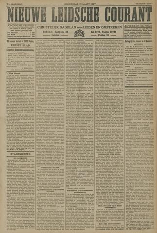 Nieuwe Leidsche Courant 1927-03-31