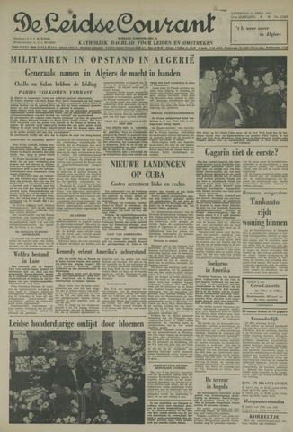 Leidse Courant 1961-04-22