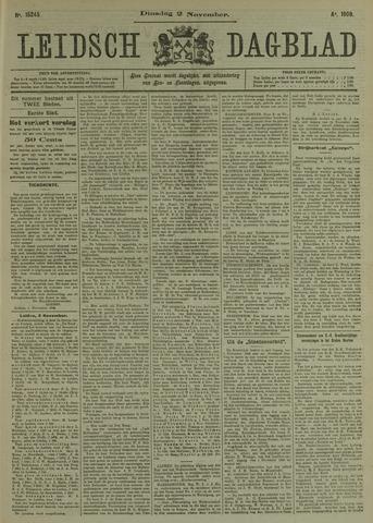 Leidsch Dagblad 1909-11-02