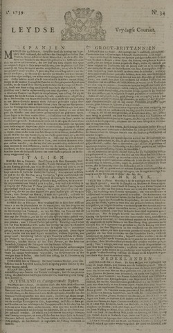 Leydse Courant 1739-03-20