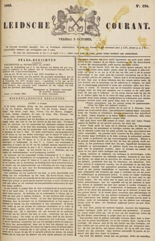 Leydse Courant 1883-10-05
