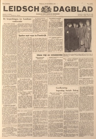 Leidsch Dagblad 1947-11-28