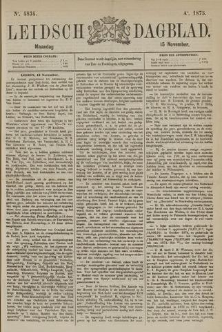 Leidsch Dagblad 1875-11-15