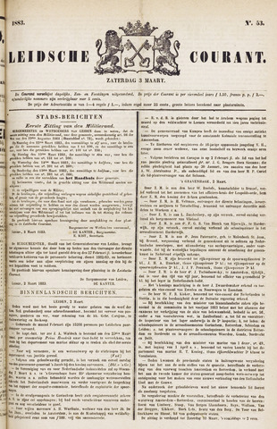 Leydse Courant 1883-03-03