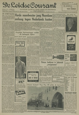 Leidse Courant 1958-10-17