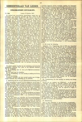 Handelingen van de Raad 1917-10-09