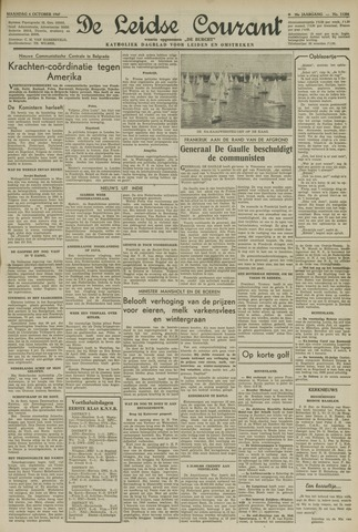 Leidse Courant 1947-10-06