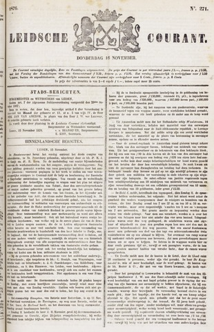 Leydse Courant 1876-11-16