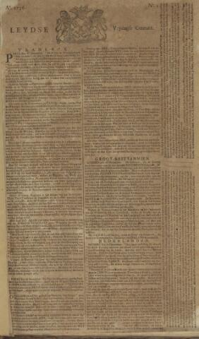 Leydse Courant 1756