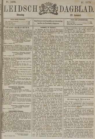 Leidsch Dagblad 1878-01-22