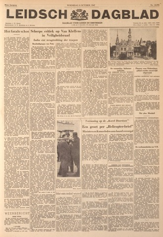 Leidsch Dagblad 1947-10-08