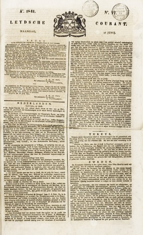 Leydse Courant 1841-06-28