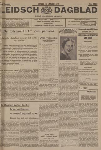 Leidsch Dagblad 1940-01-16