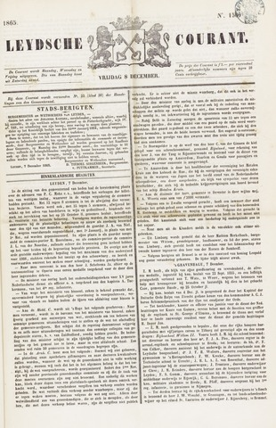 Leydse Courant 1865-12-08