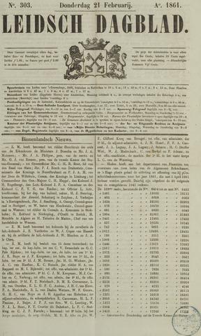 Leidsch Dagblad 1861-02-21