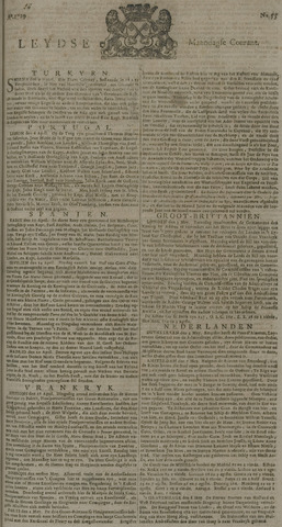 Leydse Courant 1729-05-09