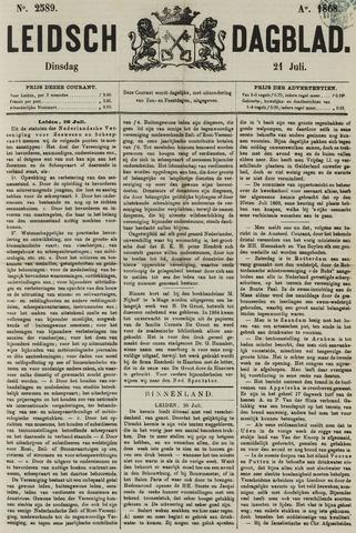 Leidsch Dagblad 1868-07-21