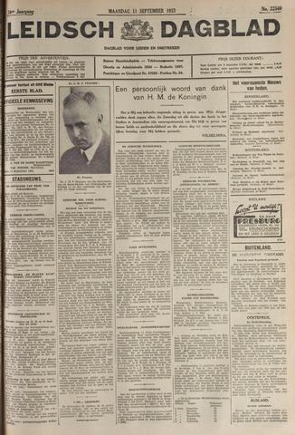 Leidsch Dagblad 1933-09-11