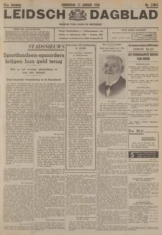 Leidsch Dagblad 1938-01-13