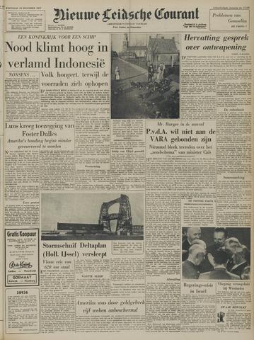 Nieuwe Leidsche Courant 1957-12-18