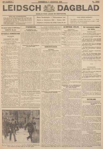 Leidsch Dagblad 1928-08-09
