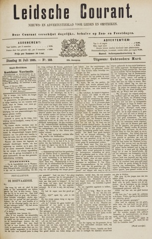 Leydse Courant 1885-07-21