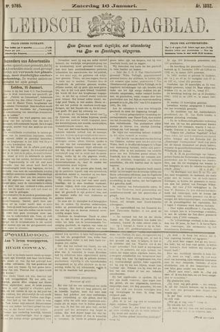 Leidsch Dagblad 1892-01-16