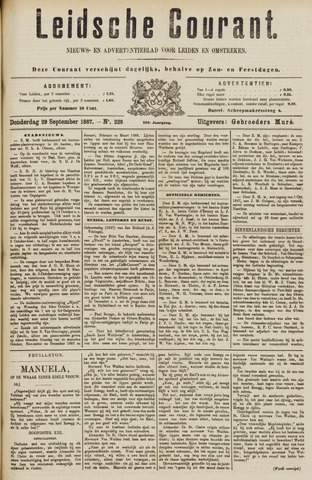 Leydse Courant 1887-09-29