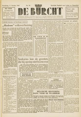 De Burcht 1945-10-11