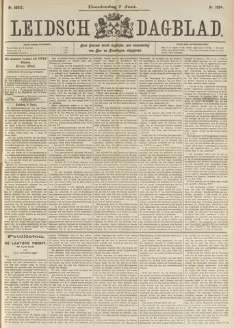 Leidsch Dagblad 1894-06-07