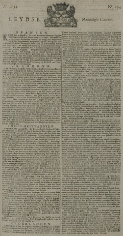 Leydse Courant 1734-08-30
