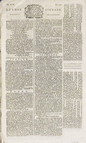 Leydse Courant 1818-08-26