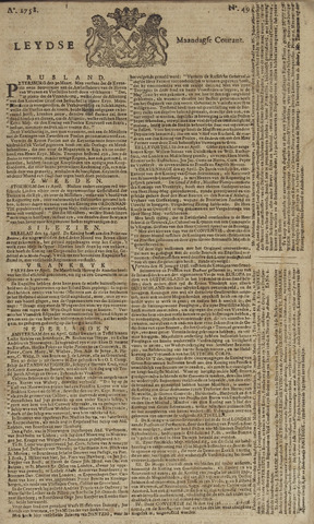 Leydse Courant 1758-04-24