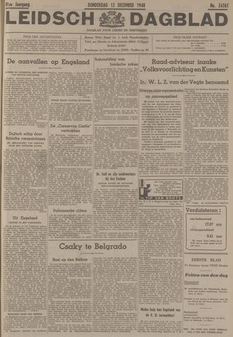 Leidsch Dagblad 1940-12-12