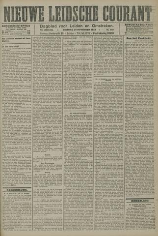 Nieuwe Leidsche Courant 1923-11-27