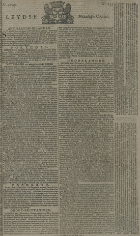 Leydse Courant 1749-11-10
