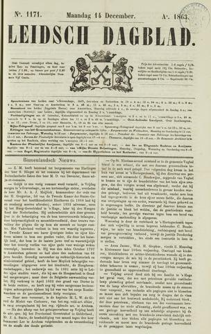 Leidsch Dagblad 1863-12-14
