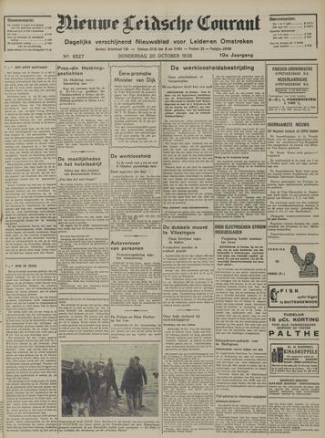Nieuwe Leidsche Courant 1938-10-20