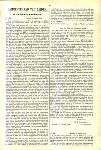 Handelingen van de Raad 1918-03-05