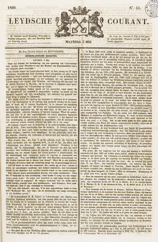 Leydse Courant 1860-05-07
