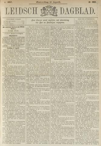 Leidsch Dagblad 1892-04-09