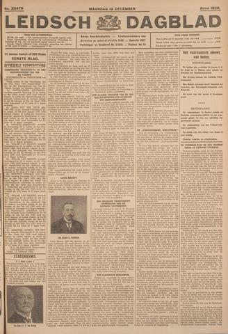 Leidsch Dagblad 1926-12-13