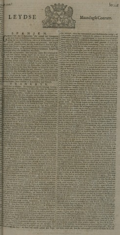 Leydse Courant 1722-10-26